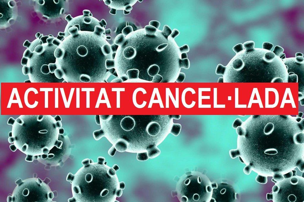 Activitat cancel·lada